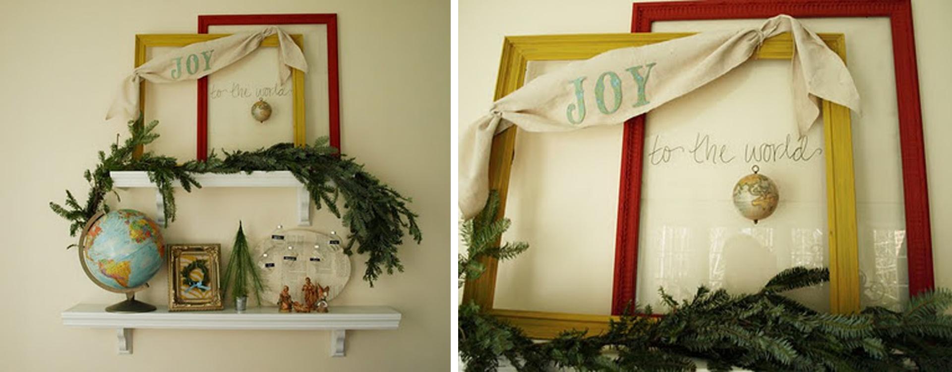 decoração natalina tema viagens