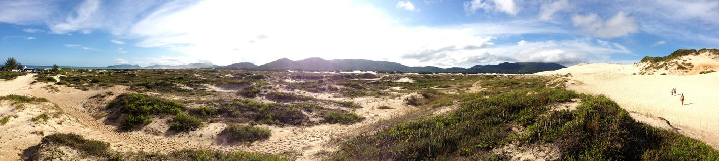 Praia Joaquina em Santa Catarina