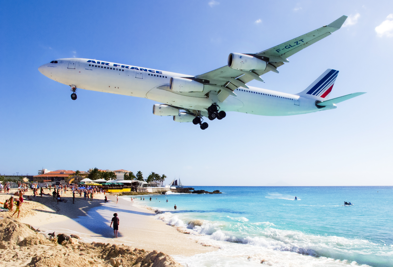 Aeroporto Princess Juliana, Caribe