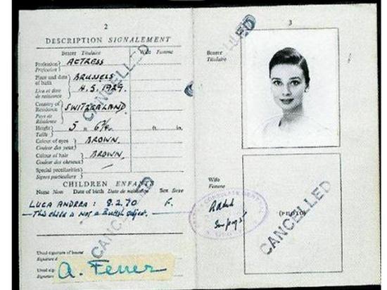 passaporte audrey hepburn