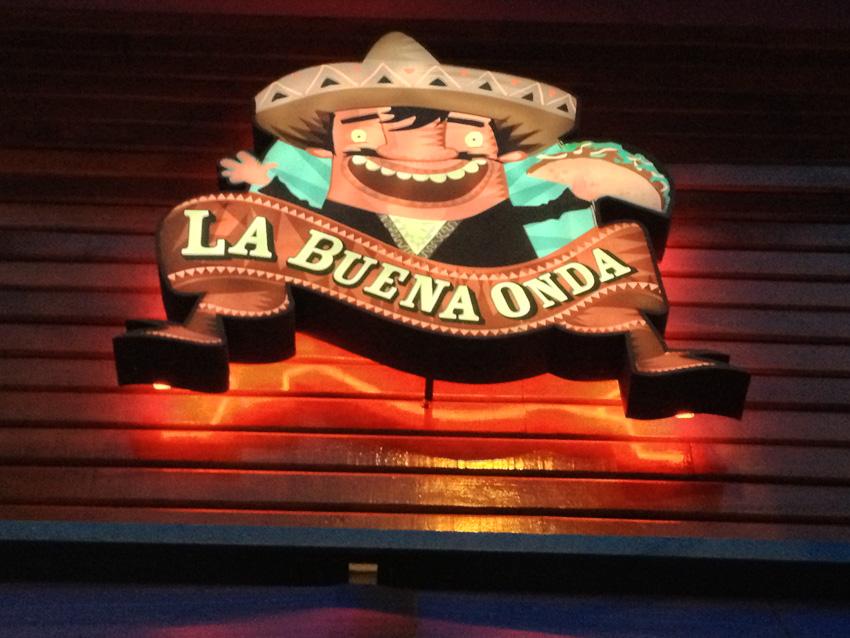 restaurante mexicano La Buena Onda